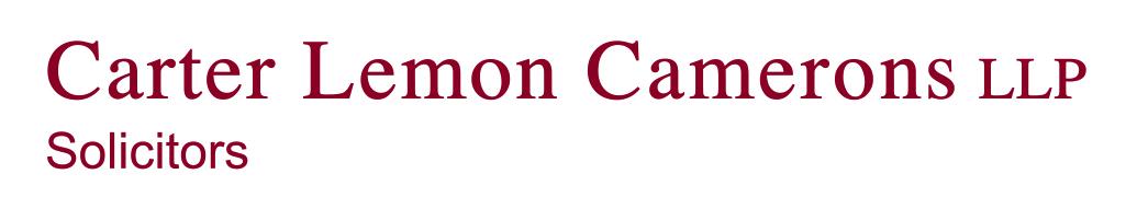 Carter Lemon Camerons Logo